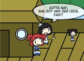 Station Wagon Love Children S4 #12: MurasaxKomachi by Spaztique