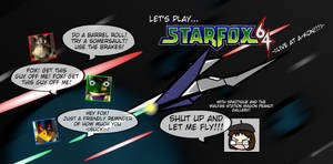 Star Fox LIVE Card by Spaztique