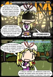 DitR!Yukari vs. WotA!Yukari by Spaztique