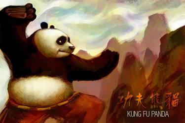 Kung Fu Panda by wendichen