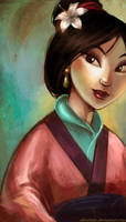 hua mulan by wendichen