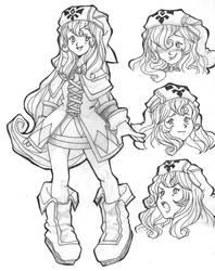 Magical Starsign- Heroine by EmmaFrew