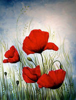 Coquelicot by mystheryah
