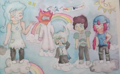 Happy Birthday AspenAttack! by Eleanor-the-Second