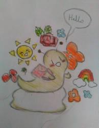 Friendly slug by Eleanor-the-Second