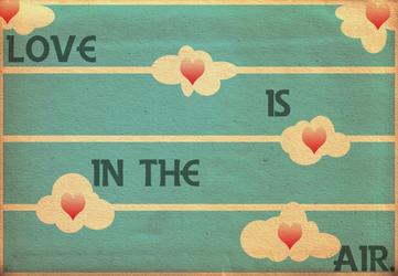 Vintage Love is in the Air by McLetdown