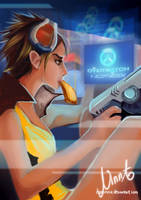 Overwatch: Tracer by NaNinna