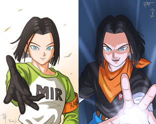 Android 17 by papersmell