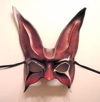 Freaky Carnival Rabbit Mask by teonova