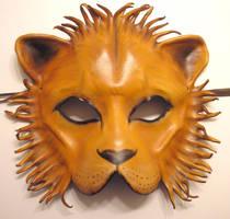Leather Lion Mask by teonova