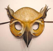 Leather Owl Mask by teonova