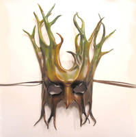 Leather Tree Mask Teonova by teonova