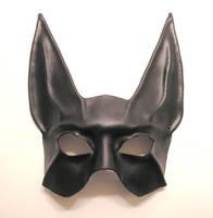Black Jackal Leather Mask 2 by teonova