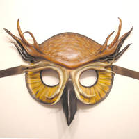 Owl Leather Mask by teonova