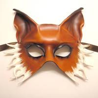 Fox Leather Mask half face version by teonova