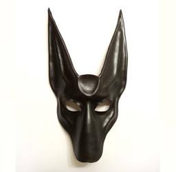 Black Jackal Anubis Leather Mask full face Teonova by teonova