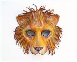 Leather Lion Mask as seen on Pretty Little Liars by teonova
