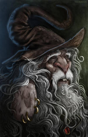 Wise Old Bunny by CLCanadyArts