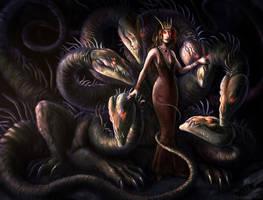 Hydra Queen by CLCanadyArts