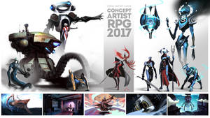 Concept Artist RPG 2017 by UnccleUlty