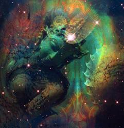 The Great Cosmic Mother by OoooKATIoooO