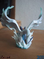 Lugia sculpture by Darrok