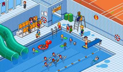 Interior 1: Swimming Pool by gunstar-red