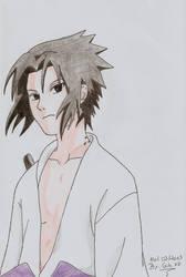 Uchiha Sasuke by Nadugi