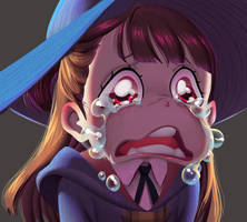 One face a day 155/365 Akko Little witch Academia by Dylean