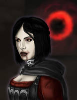 Skyrim Dawnguard: Serana by Guyver89