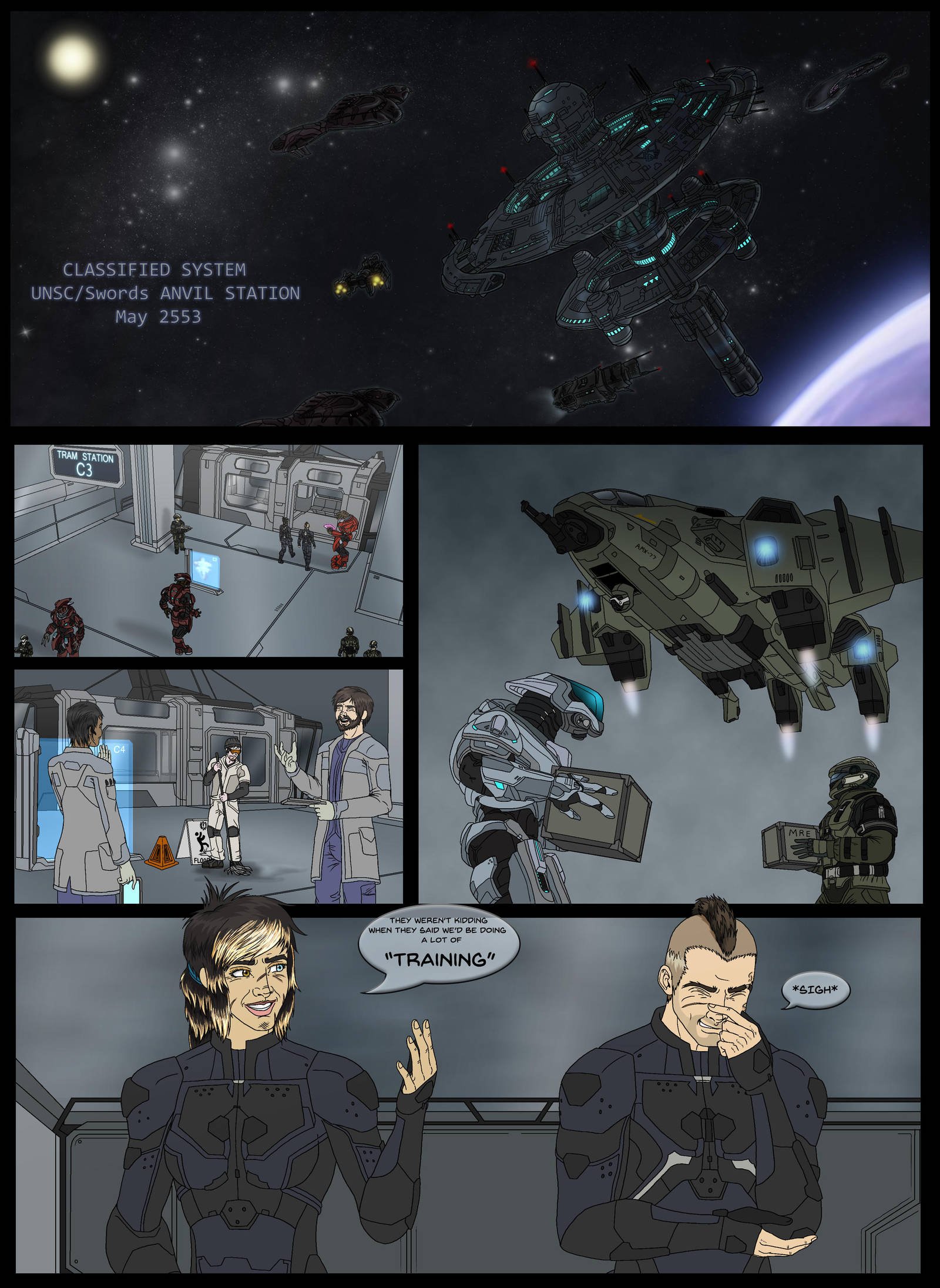 Halo Ammunition: Anvil Initiative Pg 3 by Guyver89 | Halo
