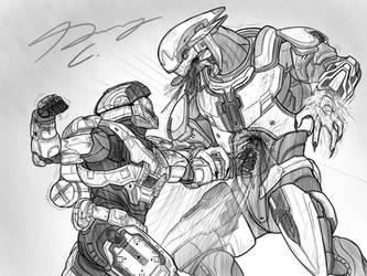 Halo-Ween 2018 - #1 Guard Break by Guyver89