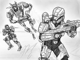 Halo-Ween 2018 - #12 Armiger's Hunt by Guyver89