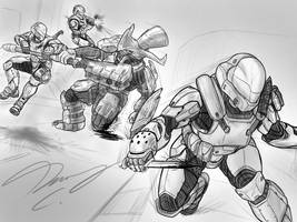 Halo-Ween 2018 - #27 Back in Action by Guyver89