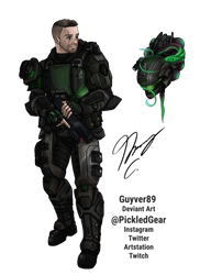 Commission - ODST Drysdale by Guyver89