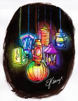 Lanterns by Gryffindork3