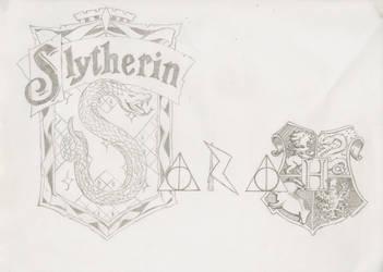 SLYTHERIN FTW! by Piggyinawig