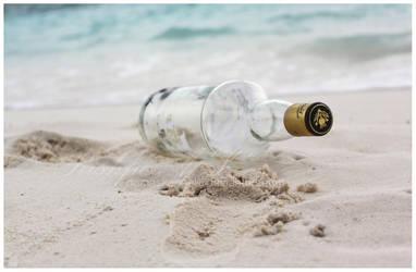 Not A Message In A Bottle I by damaskangel