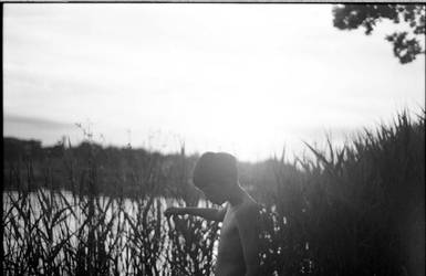 _a_boy_and_a_lake by abcdefblue