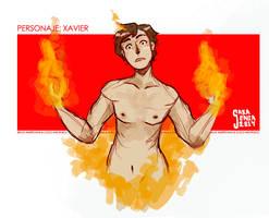 Xavier by saxagenia