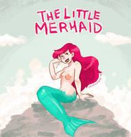 Ariel, The Little Mermaid by saxagenia
