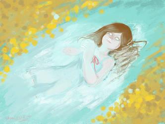 Mi alma en el lago by saxagenia