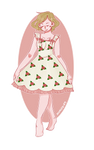 Floral Dress by saxagenia