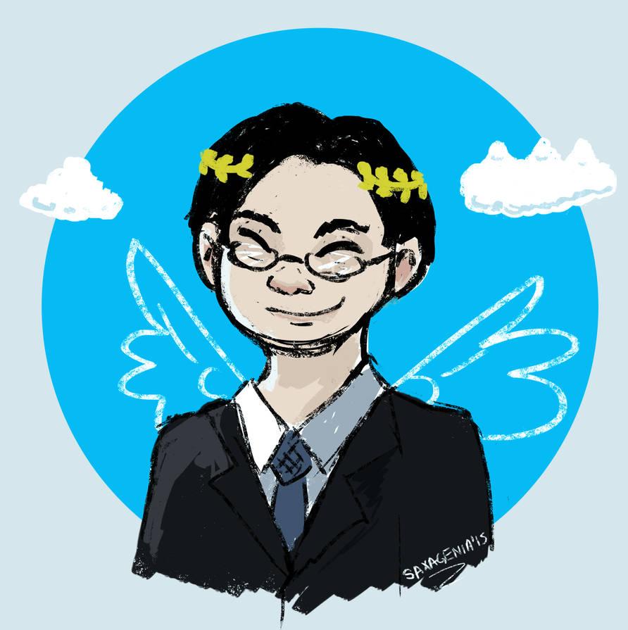 RIP Iwata :C by saxagenia
