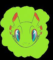 [color sketch] Yooka by Cinderbutt