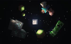 Minecraft Space by MikasDA
