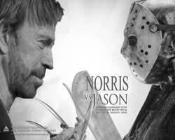 Norris Vs. Jason by JohnSeppala