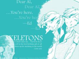 FMA :Skeletons Letter Zero: by insanetourist06