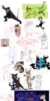 Art dump 6 by sinsher