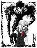 Death Note:Wanna apple by tenaku